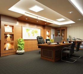 Những nguyên tắc quan trọng khi thiết kế phòng làm việc của giám đốc