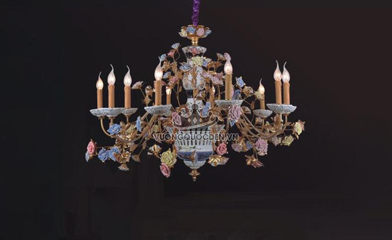 Những mẫu đèn chùm đồng được thiết kế theo xu hướng cổ điển năm 2018