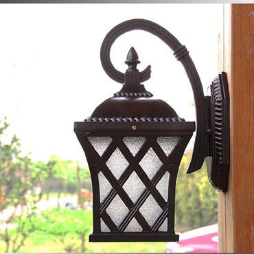 đèn tường rào