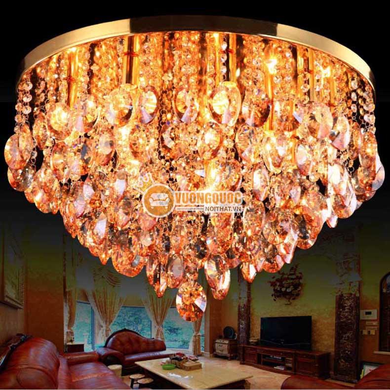 Chất lượng Quốc tế đối với mọi mẫu đèn ốp trần phòng khách