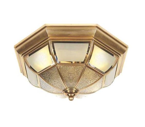 Một số loại đèn ốp trần phòng khách phổ biến