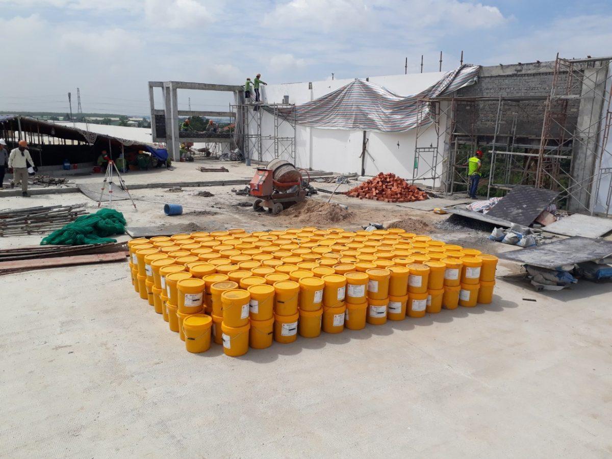 Sản phẩm chính hãng phù hợp với các công trình cần chống thấm