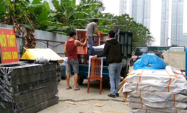 Mua nội thất tại Lương Sơn bạn sẽ được vận chuyển và lắp đặt tận nhà