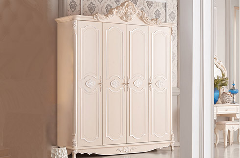Tủ quần áo cổ điển phong cách Pháp