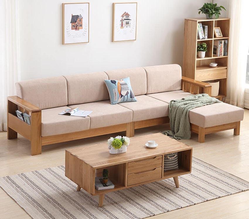 Vì sao nên mua sofa gỗ sồi hiện đại cho gia đình?