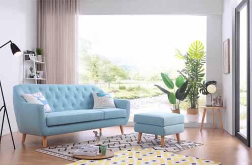 Bộ sofa phòng khách nhỏ giá rẻ đơn giản
