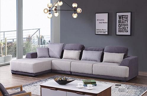 Mẫu sofa nỉ đẹp hiện đại trẻ trung