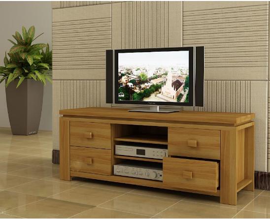 Kệ tivi gỗ thiết kế nhỏ gọn