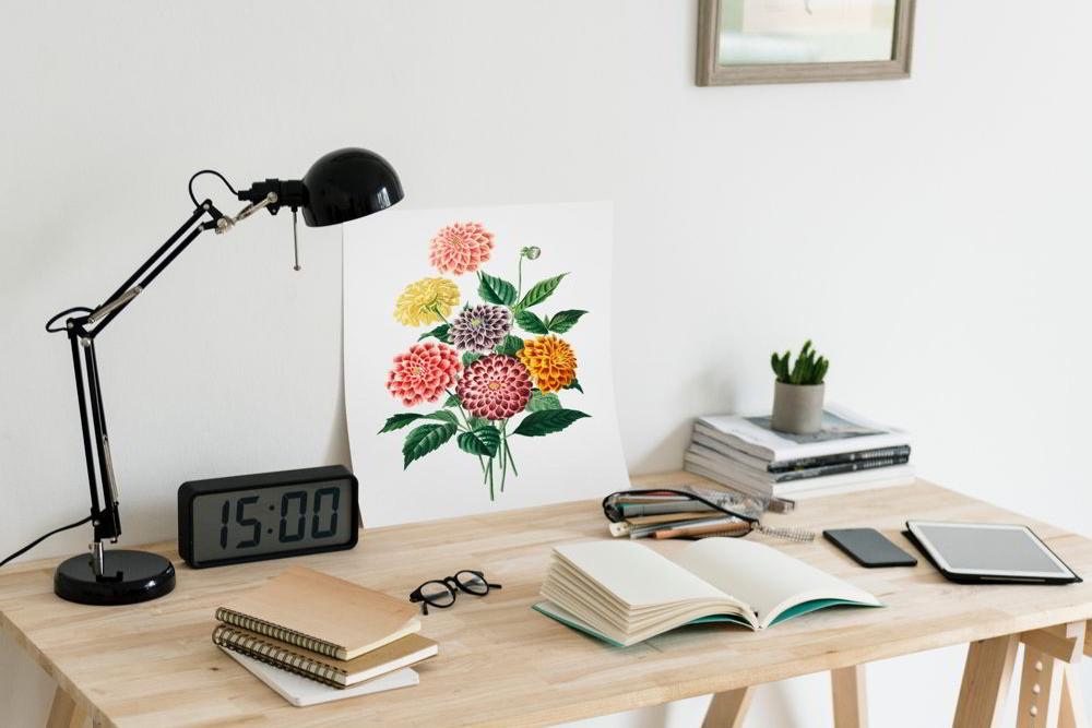 Vì sao nên trang trí góc làm việc công sở đẹp?