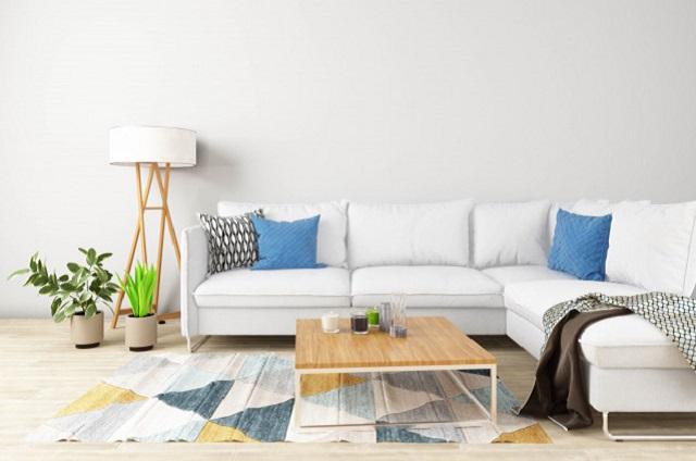 Sofa da góc giá rẻ phong cách hiện đại